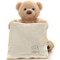 Peek A Boo Teddy Bear Toddler Kids Children Child Play Soft Toy Plush Blanket