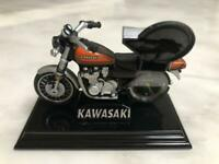 KAWASAKI MOTORCYCLE MODEL COLLECTIBLE DIECAST METAL JAPAN HOBBY Z2 CLOCK F/S