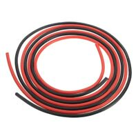 12 AWG 10 Feet Gauge Silicone Wire Flexible Stranded Cables for RC Black+Re J7M2