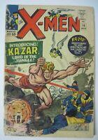 X-Men #10, GD 2.0, 1st Appearance Ka-Zar and Savage Land