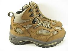 Vasque Hiking Boots Womens 9.5W Brown Leather Vibram Lace Up High Top Outdoor