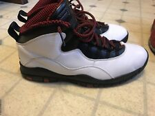 Nike Air Jordan 10 Retro Chicago 2012 Men's Size 11.5 Used