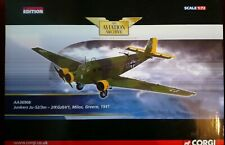 Corgi Aviation Archive. Junkers Ju52/3M. Greece 1941. 1/72. Ltd. Ed.