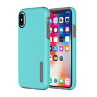 Incipio iPhone X Dual Layer Protection Cell Phone Case ~ Turquoise/Charcoal NIB!