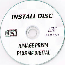 Rimage Prism CD/DVD STAMPANTE TERMICA software operativo DISCO Inc MF digitale softw