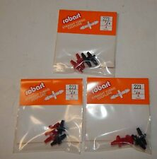 """New Robart 1/8"""" Straight Tubing Couplers -  3 packs of 4 -  #223"""