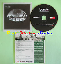 CD singolo Oasis Don't Believe The Truth PROMO CARDSLEEVE no lp mc(S19)