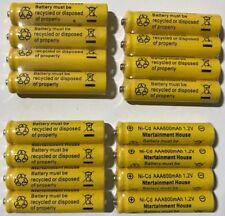 16-pcs1.2v AAA (600mAh) Ni-Cd Rechargeable Battery For Solar Light