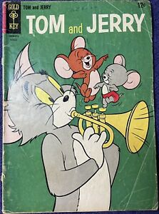 Tom & Jerry Gold Key #225 August 1965