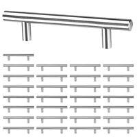 "30 Pack 6"" Kitchen Cabinet Door Handle T Bar Cupboard Drawer Hardware Pull Knobs"
