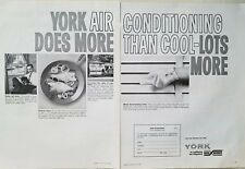 1966 York air conditioning Refrigeration makes housekeeping easier ad