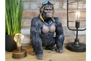 Moody Gorilla Unique Funky Animal Ornament - Desk Figurine - 34cm