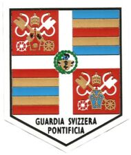 TOPPE PATCH GUARDIA SVIZZERA PONTIFICIA BENEDETTO XVI GUARDIA SUIZA EB01228