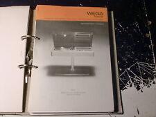 WEGA Service Manual Hifi Stereo 3229 uvm.  1 Stück aussuchen / choose 1 piece !