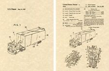 Transformers OPTIMUS PRIME G1 US Patent Art Print READY TO FRAME Obara 1983