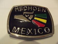 New Belt Buckle HECHOEN Mexico NWOT