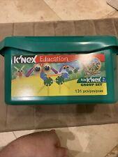 K'Nex Education Kid K'Nex Group Building Set 131 Piece Age 3+ Gently Used Bug