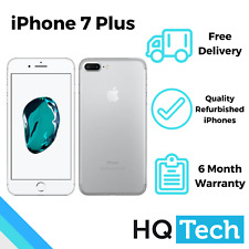 Apple iPhone 7 Plus 32GB 128GB Black Silver Rose Unlocked Refurbished Smartphone