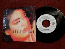 Morris Day Love Is A Game 45 PROMO OG Sleeve The Time Jimmy Jam Terry Lewis EX