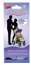 Stroller Reflectors Visible Over 200m Pram Safety 100 Times More Visible