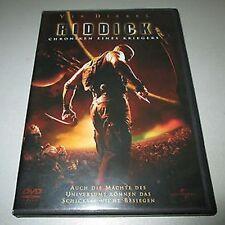 2-DVD-SET✇VIDEO  ☆ Vin Diesel • RIDDICK Chroniken eines Kriegers ★ TOP ZUSTAND