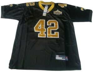 Darren Sharper New Orleans Saints Reebok Super Bowl XLIV Mens Black Jersey Sz 50