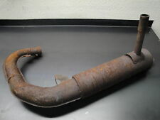 88 1988 POLARIS INDY SPORT 340 SNOWMOBILE EXHAUST PIPE MUFFLER CHAMBER CAN
