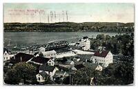 Early 1900s Lake and Falls, Menomonie, WI Postcard *5E3