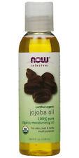 Now Solutions - Certified Organic - Jojoba Oil 4 fl.oz (118 ml) - Free Shipping