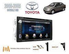 2000-2005 TOYOTA ECHO CAR STEREO KIT, BLUETOOTH TOUCHSCREEN DVD USB
