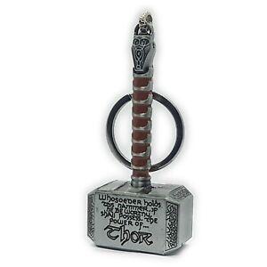 Mjolnir Thor Hammer Keyring Avengers Thor Keychain Keyring 100g Each 2021