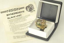 NISSIN Flash Slave Synchro Eye BLITZ Strobe Trigger Ottico PC SOCKET