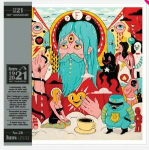 Father John Misty - Fear Fun - HMV Vinyl LP Neon Orange Vinyl UK Only #500