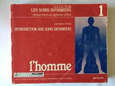 SOINS INFIRMIERS PREPARATION DIPLOME D'ETAT INTRODUCTION L'HOMME 1983 ILLUST