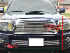 Fits 05-10 Toyota Tacoma Billet Grille Grill Combo Insert