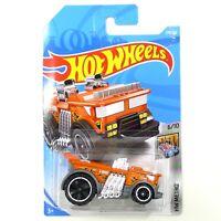 Hot Wheels Backdrafter HW Metro Series 6/10 278/365 Fire Truck Orange