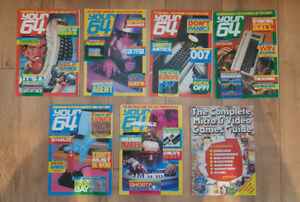 Commodore 64 - Your 64 Magazine - x6 issues - 1985