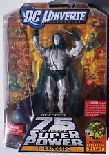 DC UNIVERSE. THE SPECTRE ACTION FIGURE. DC 75 YEARS OF SUPER POWER. NOC. 2009.