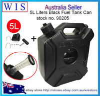 5L Black Fuel Jerry Can With Free Holder Motorcycle Jerry Can-90205