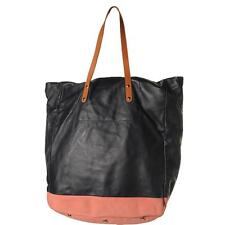 Paul Smith 6770 Mens Navy Leather Lined Tote Extra Large BHFO