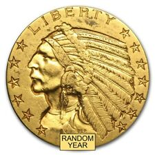 $5 Indian Gold Half Eagle XF (Random Year) - SKU #168070