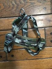 EZY DOG Quick Fit Dog Harness EzyDog One Click Adjustable Camo Green Large