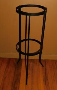 Partylite Black Metal Candle Holder Stand Only