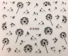 Nail Art 3D Decal Stickers Dandelion Flowers E400