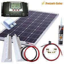 Solarmodul 100 Watt Solaranlage Solarset 100 Watt mit 30 A Laderegler Wohnmobil