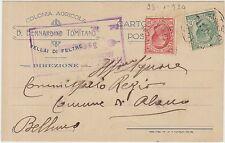 VELLAI DI FELTRE - COLONIA AGRICOLA (BELLUNO) 1920
