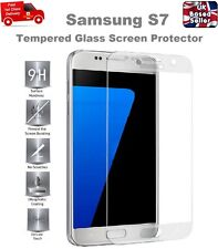 Full Screen Coverage Tempered Glass Screen Protector For Samsung Galaxy S7 CLEAR