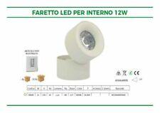 Luci a LED bianchi in metallo con faretto per l'illuminazione da interno