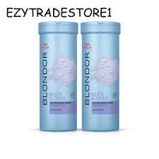 Wella BLONDOR Dust-free Blue Bleach Bleaching Powder 400g (7 lifts) x 2