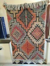 Carpet Morrocan Beni Ourain Rug Azilal Wool Handmad Berber Traditional